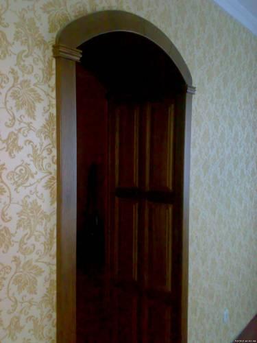 Отделка межкомнатных дверей фото